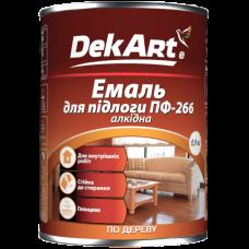 Эмаль для пола ПФ 266 DekArt красно-коричневая, 2.8 кг