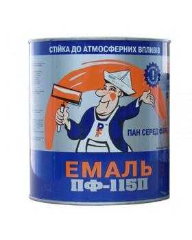 Эмаль алкидная ПФ 115П Panafarb синяя 2,8 кг