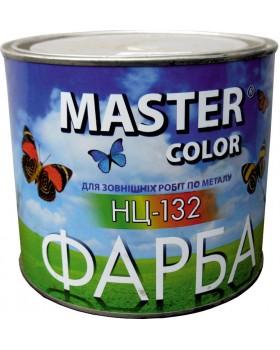 Краска НЦ-132 серая 0,8 кг MASTER COLOR