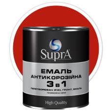 Эмаль антикорозийная 3в1 Supra красная 2,5 кг