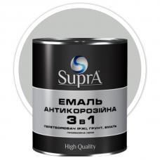 Эмаль антикорозийная 3в1 Supra серебристая 2,5 кг