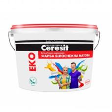 """Водно-дисперсионная краска """"Ceresit"""" интерьерная акриловая Eko (14 кг)"""
