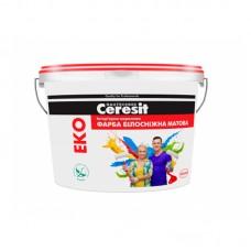 """Водно-дисперсионная краска """"Ceresit"""" интерьерная акриловая Eko (7 кг)"""