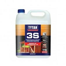 """Защита для дерева """"Tytan"""" 3S (ультрабиозащита) зеленый (5 л)"""