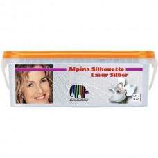"Краска лессир. ""Alpina"" Silhouette Lasur Silber 2,5 л"