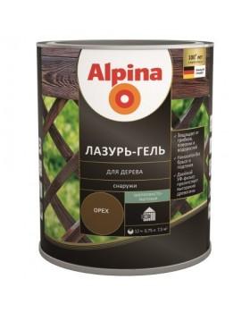 Лазурь для дерева Alpina lasur-gel тик 2,5л