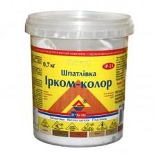 """Шпатлёвка """"Ирком-колор"""" для дерева 0,7 кг белая"""