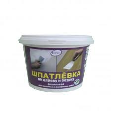 """Шпатлевка для дерева акриловая """"Сириус"""" белая (0,7 кг)"""