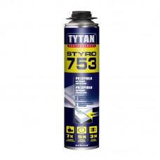 """Клей-пена профессиональный """"TYTAN"""" О2 Styro 753 (750 мл)"""