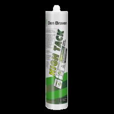 Клей-герметик для высоких нагрузок Den Braven High Tack 290 мл.,бел