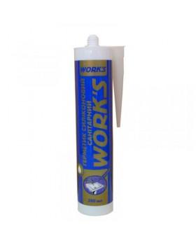 Герметик силиконовый универсальный WORKS белый 280 мл