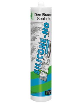 Герметик силиконовый санитарный Den Braven Silicone-NO 300 мл, белый
