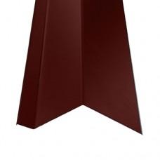 Планка карнизная КП1 красная (2 м)