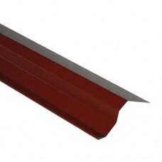 Планка торцевая ПТ1 красная 2 м