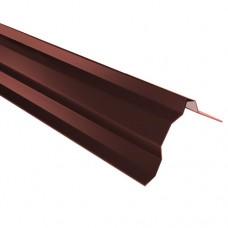 Планка торцевая ПТ2 красная 2 м