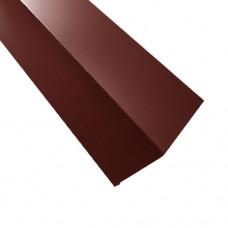 Планка примыкания ПП2 красная 2 м