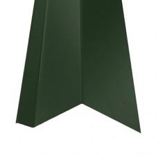 Планка карнизная КП1 зеленая (2 м)