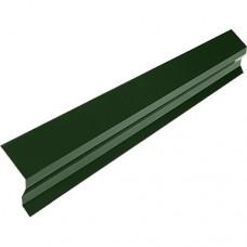 Планка карнизная КП2 зеленая (2 м)
