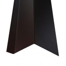 Планка карнизная КП1 коричневая (2 м)