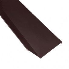 Планка примыкания ПП1 коричневая 2 м