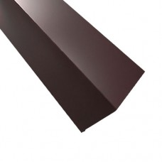 Планка примыкания ПП2 коричневая 2 м
