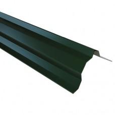 Планка торцевая ПТ2 зеленая 2 м