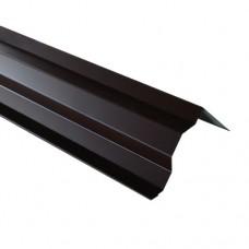 Планка торцевая ПТ1 коричневая 2 м