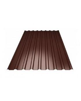 Профнастил ПС-10 8017 (коричневый)