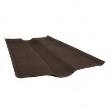 """Ендова """"Ондулин"""" коричневая 0,36 х 1 м"""