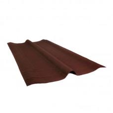 Конек Ондулин коричневый 0,36 х 1 м