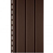 """Панель """"Софит"""" темно-коричневая (3 м)"""
