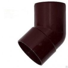 """Колено водосточной трубы """"Profil"""" коричневое 90 х 75 мм"""