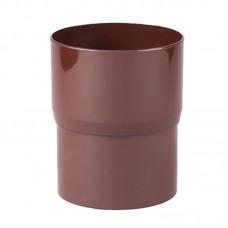 """Соединитель трубы коричневый """"Profil"""" 90 мм"""