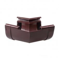 """Угол внутренний для водостока """"Profil"""" 135 W (130 мм) коричневый"""