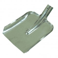 Лопата для снега металлическая (360 х 340 мм)