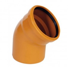 Отвод для наружной канализации 45 градусов (160 мм)
