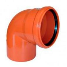 Отвод для наружной канализации 88 градусов (160 мм)