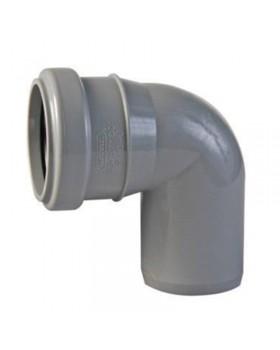 Колено пластиковое 90 (50 мм)