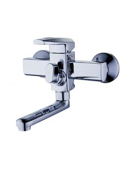 Смеситель для ванны Zegor NOF3-A033 (короткий нос)