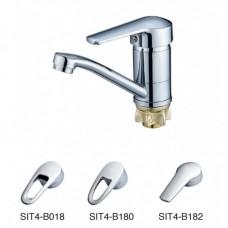 Смеситель для умывальника Solone SIT4-В182, поворотный излив