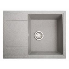 Мойка Оптима 650 х 510 мм серый (искусственный камень)