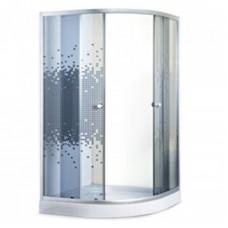"Душевая кабина ""Sansa"" S-90/15 (900х900х1940 мм) стекло мозаик серое"