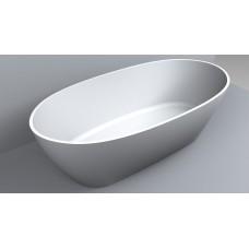 "Ванна из литого мрамора ""Miraggio"" Estella, матовая 1680х830х560 мм"