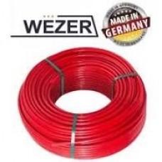 Труба РЕ-RT WEZER Ø16 OXYGEN BARRIER 10 Bar (max t=95°C) 600м