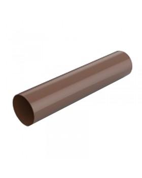 """Труба водосточная """"Profil"""" коричневая (130х100 мм) 3 м"""