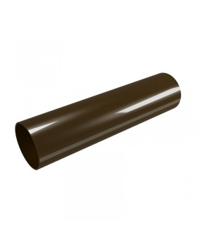 """Труба водосточная """"Profil"""" коричневая (130х100 мм) 4 м"""