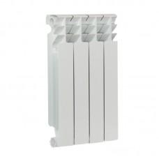 "Радиатор отопления биметаллический ""Whitex"" (500х80х96 мм) 4 секции"