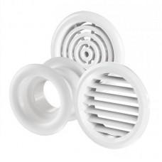 "Решётка вентиляционная ""Vents"" МВ 50/4 бВ 59 х 47 мм (фланец, защитная сетка)"