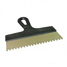 """Шпатель зубчатый """"BLUMBERG"""" 25см (зуб 8х8 мм)"""