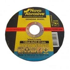 Круг шлифовальный по металлу NOVOABRASIVE 1 14А (125 х 6 мм)